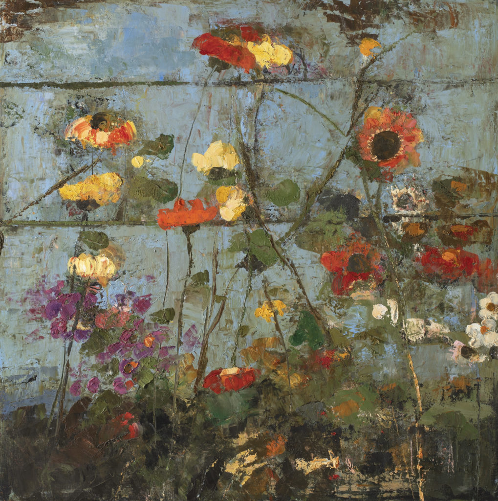 Old Fence Wild Flowers